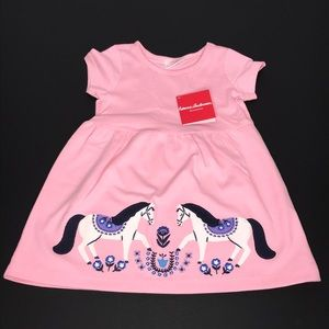 Hanna Andersson 2 Horses Dress Size: 3